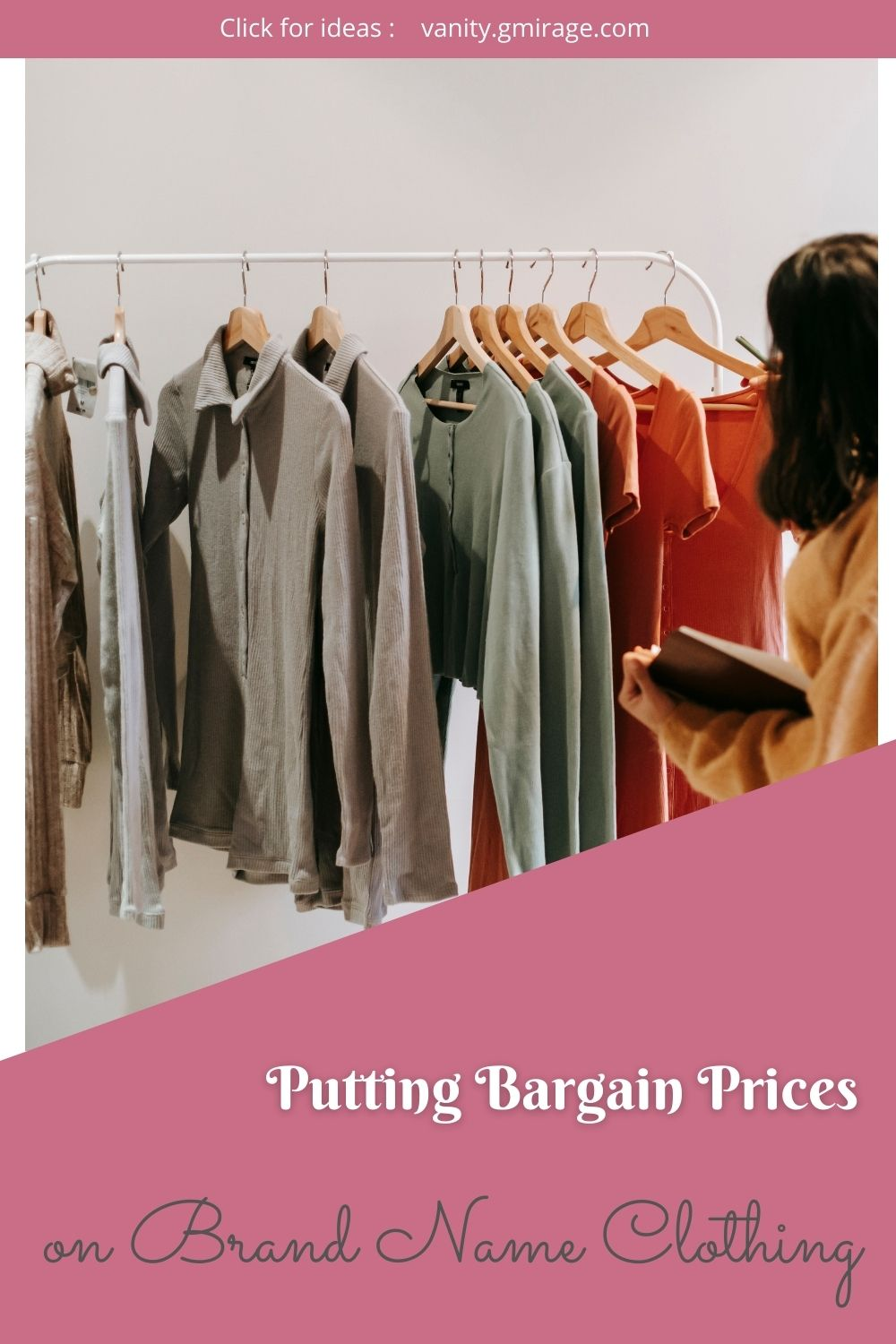 Putting Bargain Prices on Brand Name Clothing