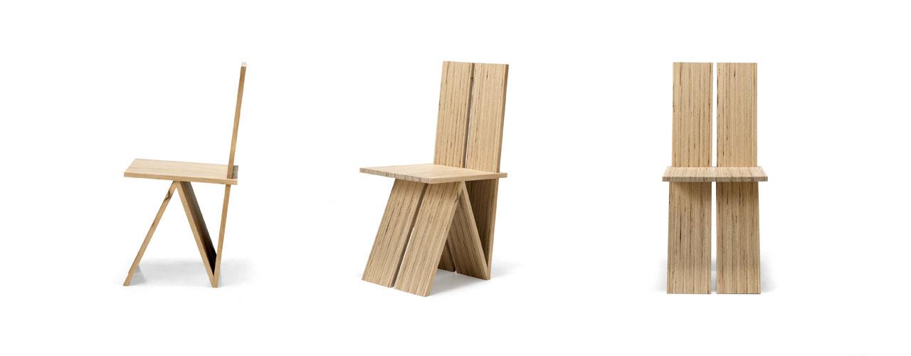 Ariva di Sitia, una sedia elegante ed ecostenibile