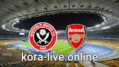 مباراة شيفيلد يونايتد وآرسنال بث مباشر بتاريخ 11-04-2021 الدوري الانجليزي