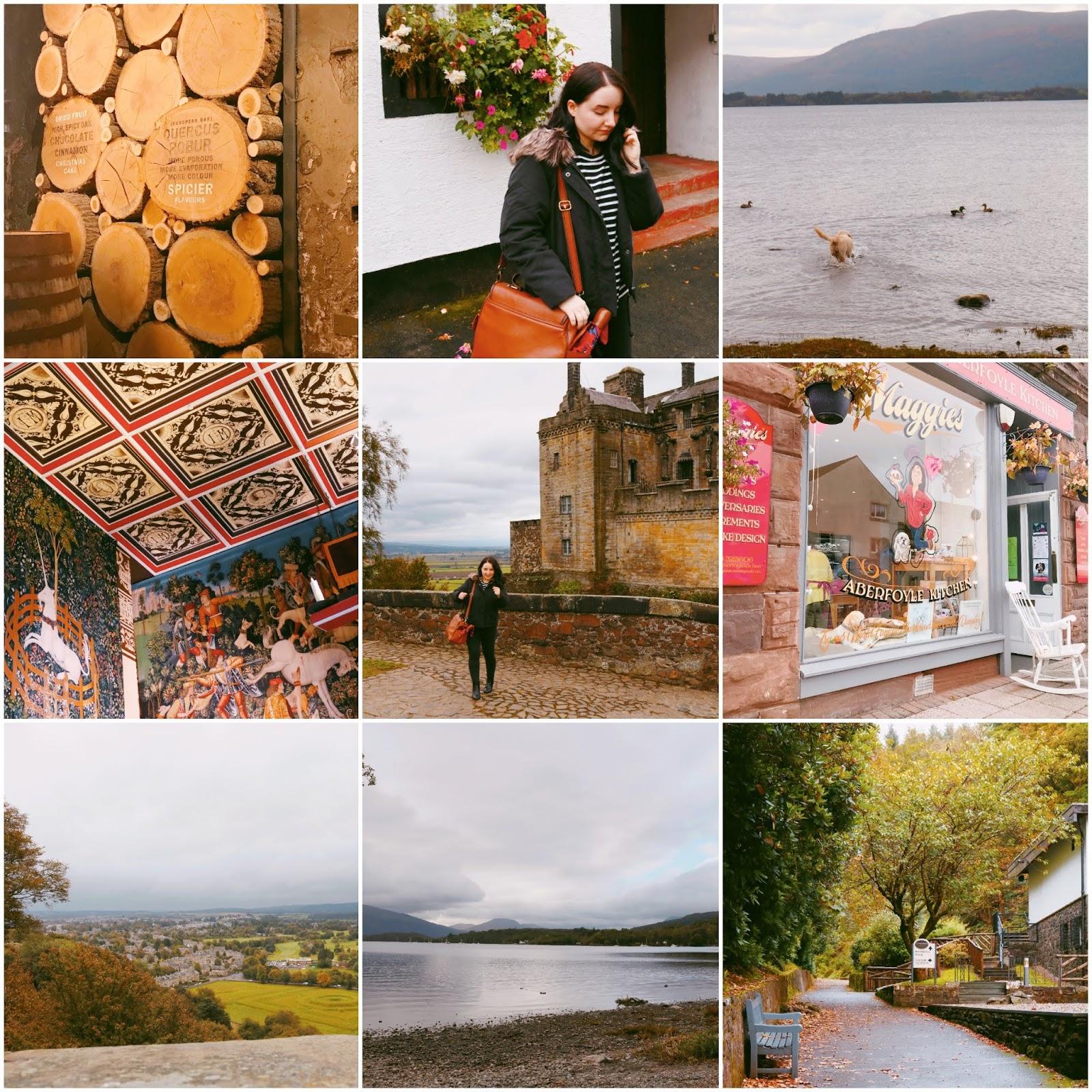 Glasgow Photo Diary: Stirling Castle, Loch Lomond + Glengoyne Distillery