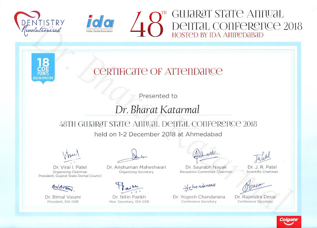 48th Gujarat State Annual Dental Conference 2018 Ahmedabad