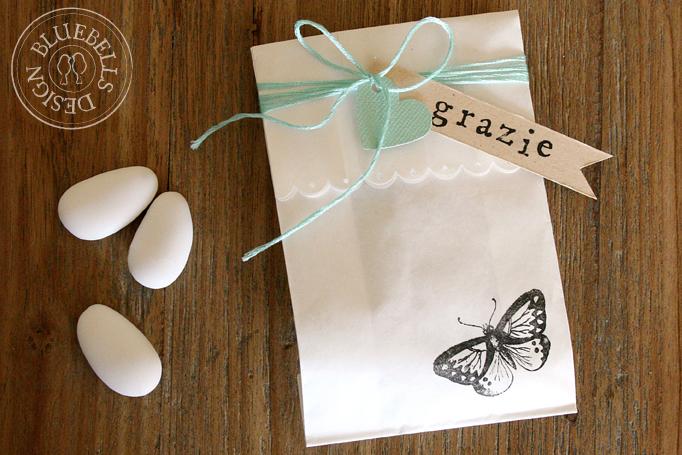 Favoloso Bluebells Design: Confetti e farfalle IX48