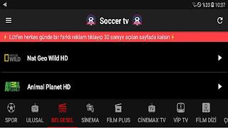 Bu Uygulama ile en iyi TV Kanalları ve Spor Kanallari izle