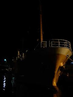 伊豆大島の旅 夜の漁港
