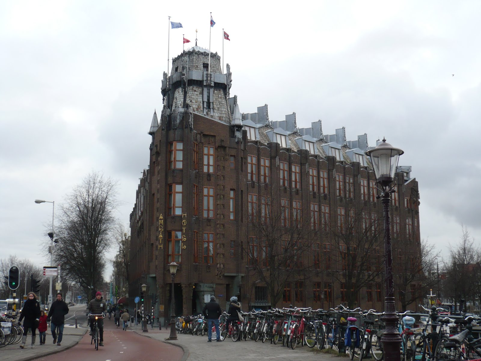 Amrath Hotel Amsterdam Rondleiding