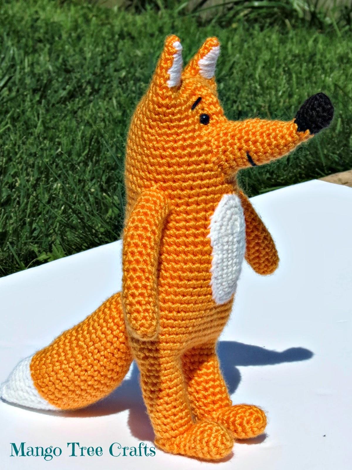 Frochet fox pattern