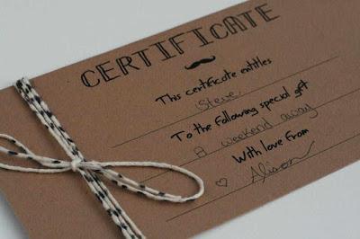 Diy Gift Certificates Free Templates Nuijh