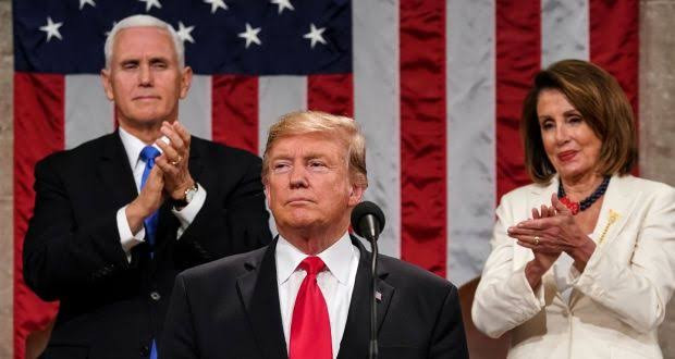 House of Reps approves resolution calling on Mike Pence to Impeach Trump after he rejected calls by Nancy Pelosi to invoke 25th Amendment