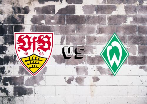 Stuttgart vs Werder Bremen  Resumen