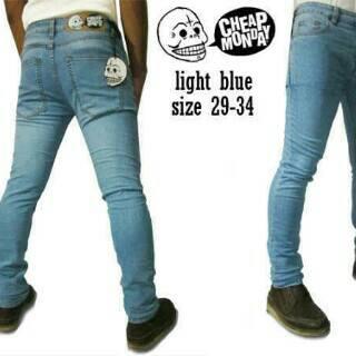 celana jeans skinny pria preium cheap Monday