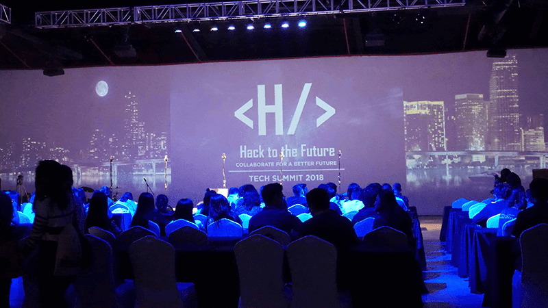 "MyPhone conducted ""HACK TO THE FUTURE"" event, a tech summit"