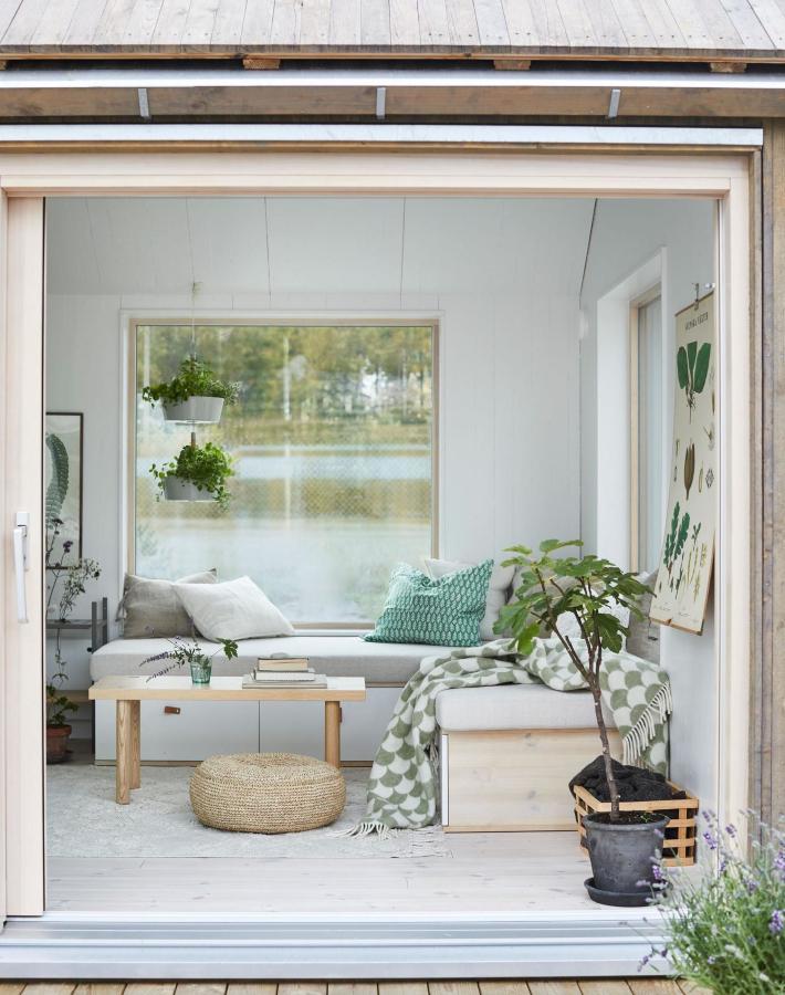Una cabaña de 25 m2 rodeada de naturaleza