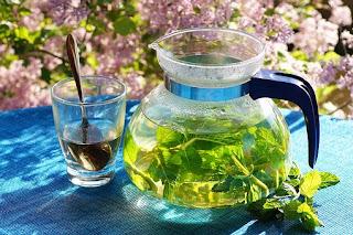 Draining herbal tea for cellulite