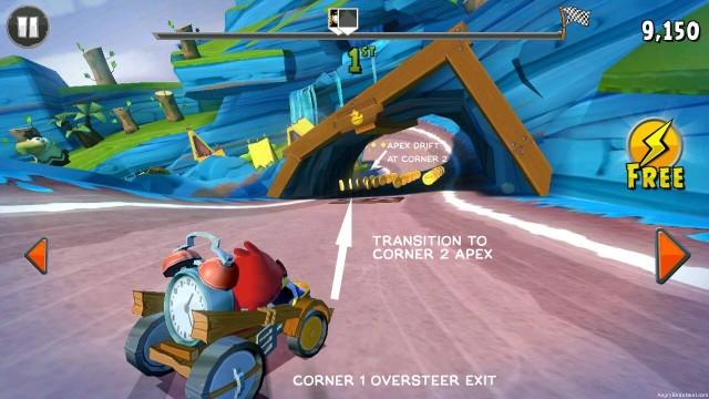 Angry Birds Go v2.2.8 Apk + Datos SD Mod [Dinero]