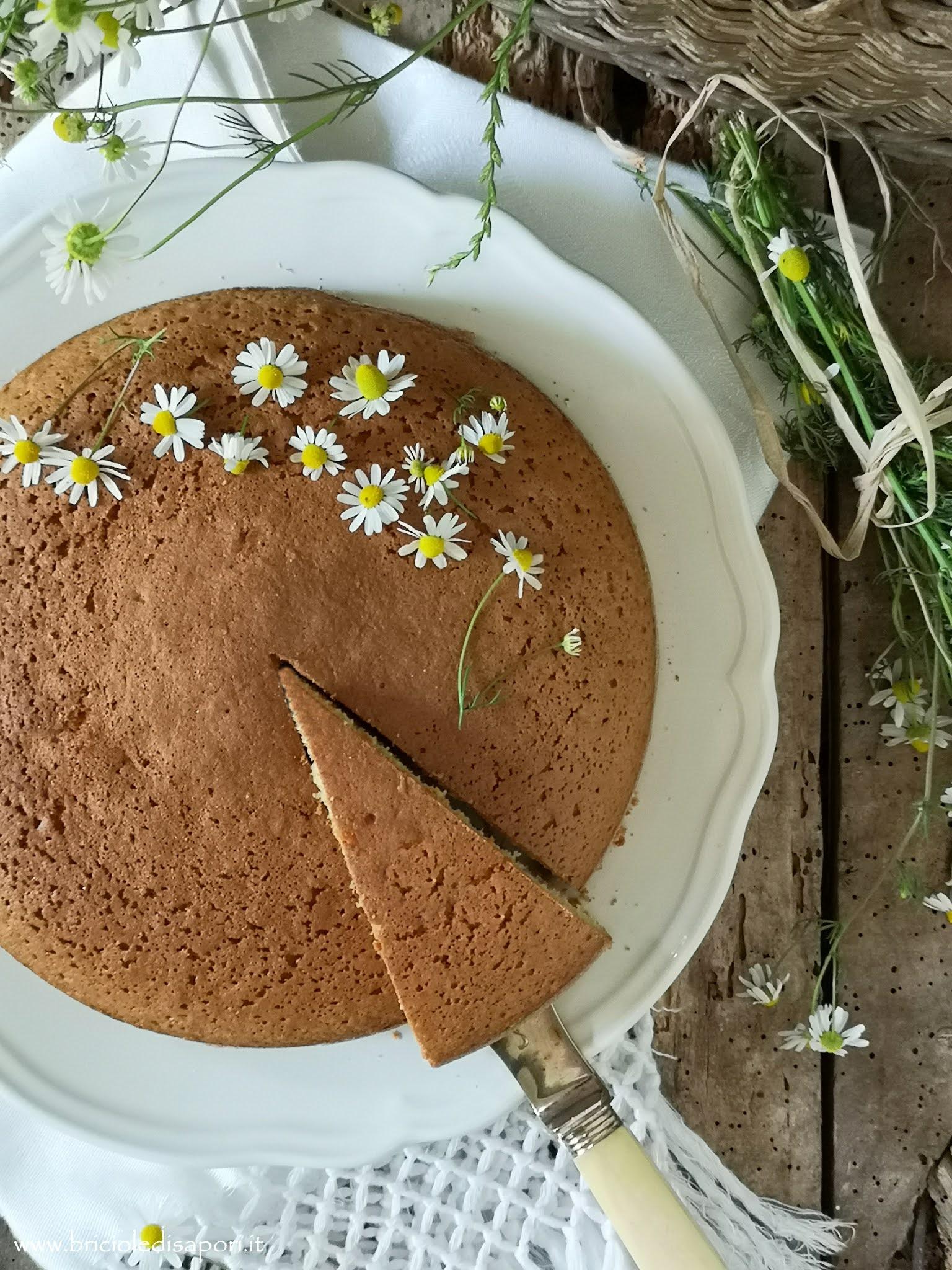 torta alla camomilla