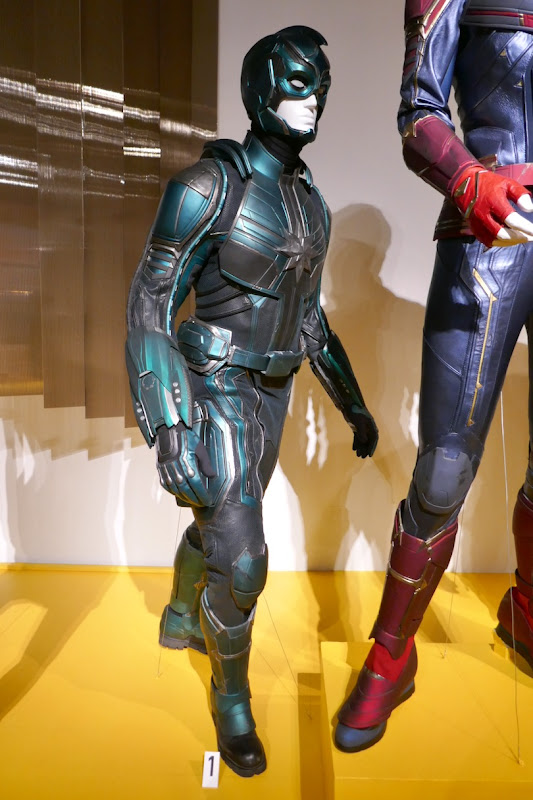 Jude Law Captain Marvel Yon-Rogg costume