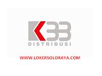 Loker Solo, Blora dan Purwodadi November 2020 di PT K33 Distribusi