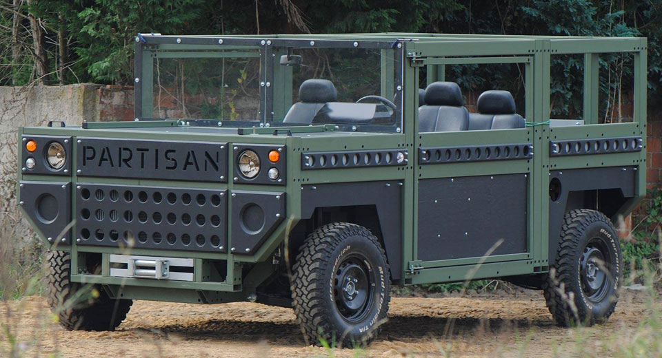 Partisan One Aims To Simplify The Military SUV