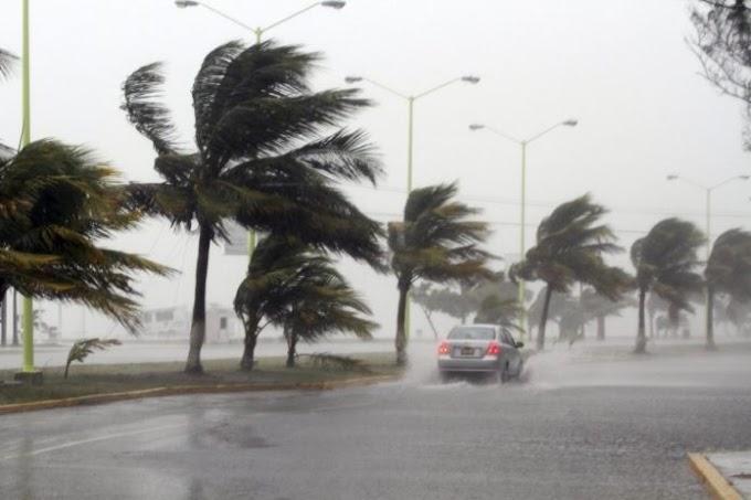 Meteorología pronostica lluvias y ráfagas de vientos este sábado en varias zonas del país