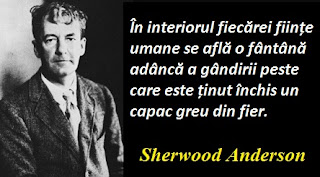 Maxima zilei: 13 septembrie -  Sherwood Anderson