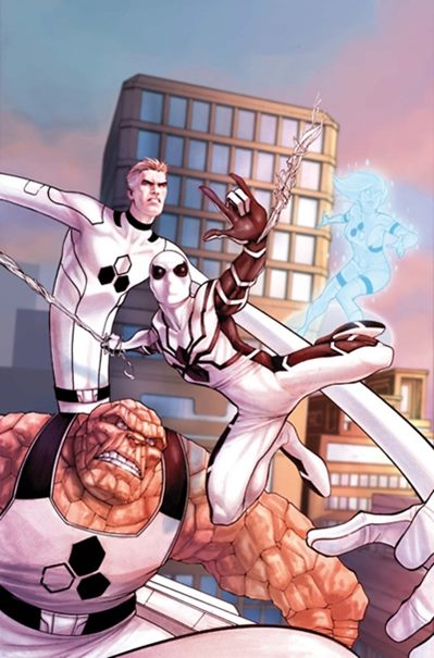Spiderman se unió a la Fundación Futuro (4 Fantásticos)