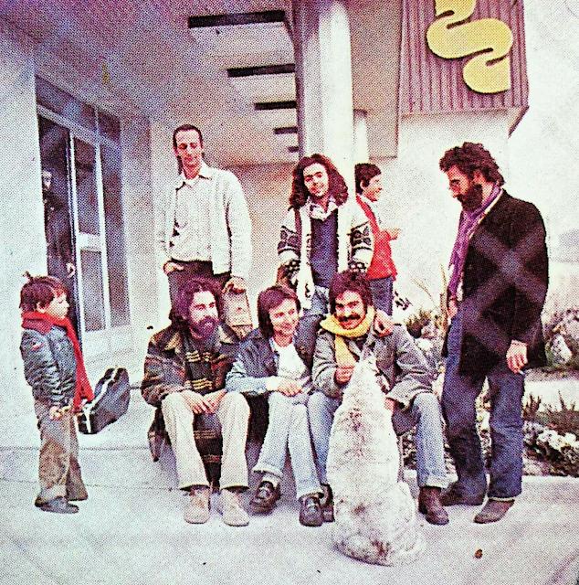 FORMACIÓN VERICUETOS GUALBERTO 1976