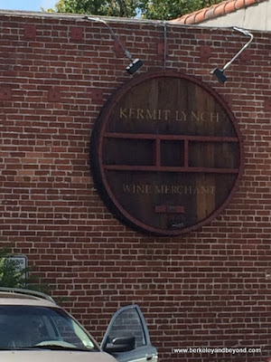 exterior of Kermit Lynch Wine Merchant in Berkeley, California