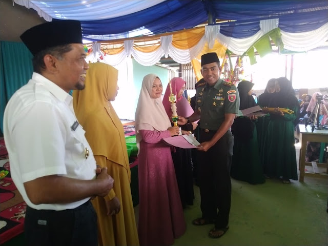 Dari Ponpes Syekh Muhammad Arsyad Al Banjari, Dandim 0913 PPU Apresiasi Festival Syair Sholawat