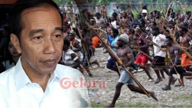 Jokowi Ditantang Blusukan ke Papua, Berani?