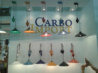 Luminárias coloridas