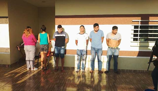 Santa Cruz: Allanan «guarida» de motochorros implicados en asaltos y secuestros (ver vídeo)