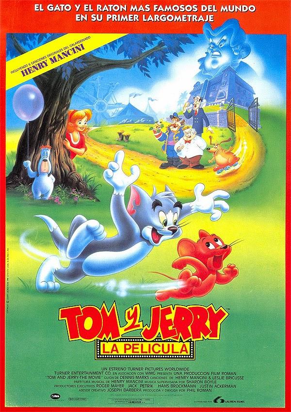 Resultado de imagen de tom y jerry peli