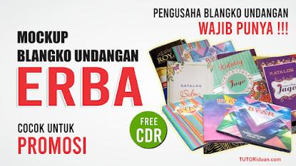 Mockup Undangan ERBA CDR
