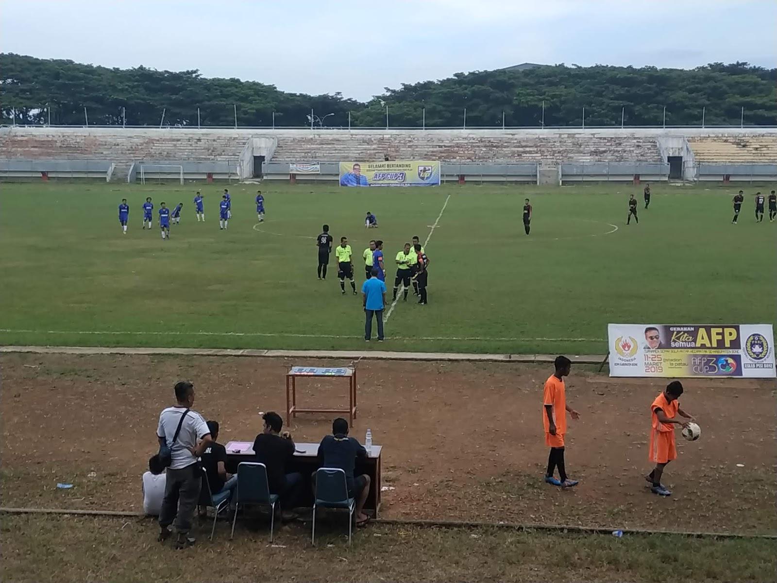 Kalahkan Lamuru, Kecamatan Cina Akan Berhadapan Tellusiattinge di Final AFP Cup 2019