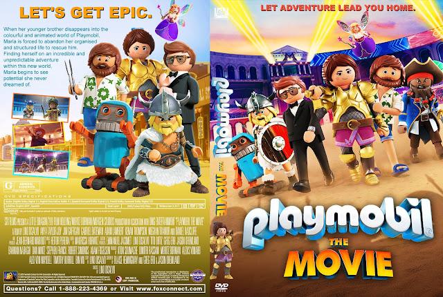 Playmobil: The Movie DVD Cover
