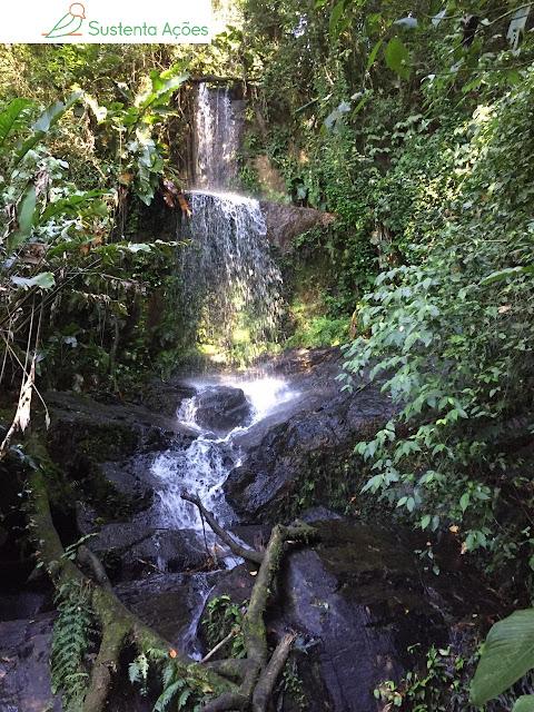 Cachoeira no Morro do Sapo