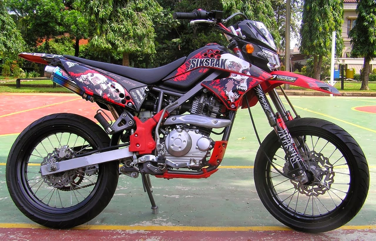 ide modifikasi motor klx