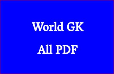 World GK All PDF