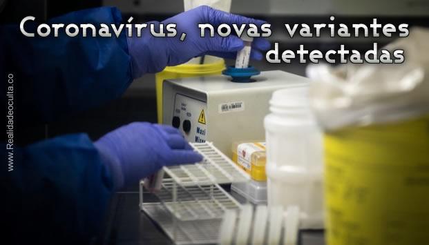 Novas variantes Coronavírus Detectadas