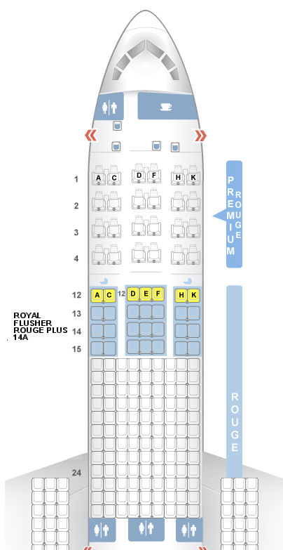 how to change seats on air canada