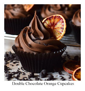 These Double Chocolate Orange Cupcakes are a chocoholics dream!  With real chocolate in both the sponge and the buttercream, and finished with an oven-dried slice of orange you'll soon be making another batch of these yummy cupcakes.
