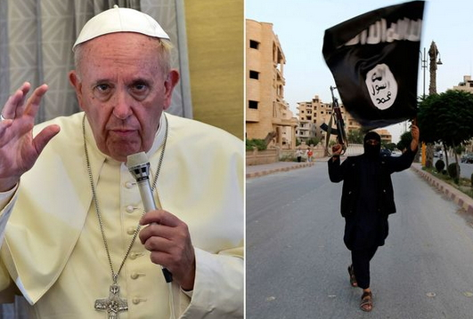 4 ISIS TERRORISTS KILL POPE