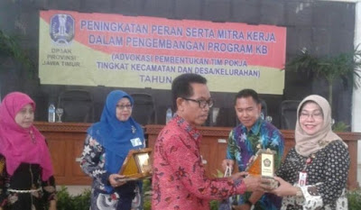 Wabup Pamekasan Hadiri Pengukuhan Pokja Tingkat Kecamatan dan Desa