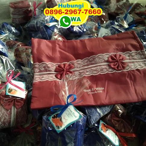 souvenir pernikahan tempat tissue kawat 53490