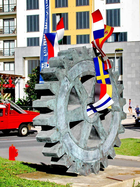 wheel of the Rotary International