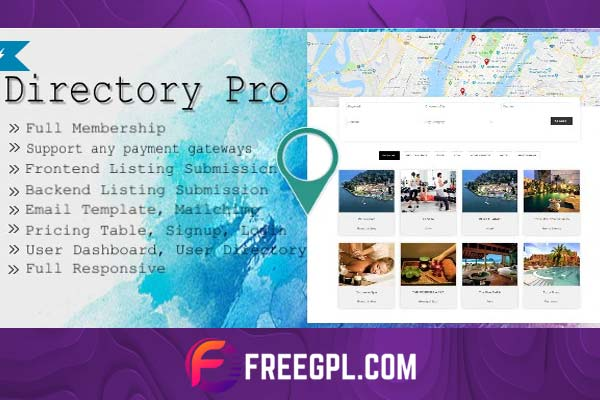 Directory Pro WordPress Plugin Nulled Free Download