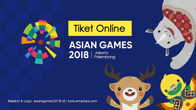 Cara beli Tiket online asian games 2018