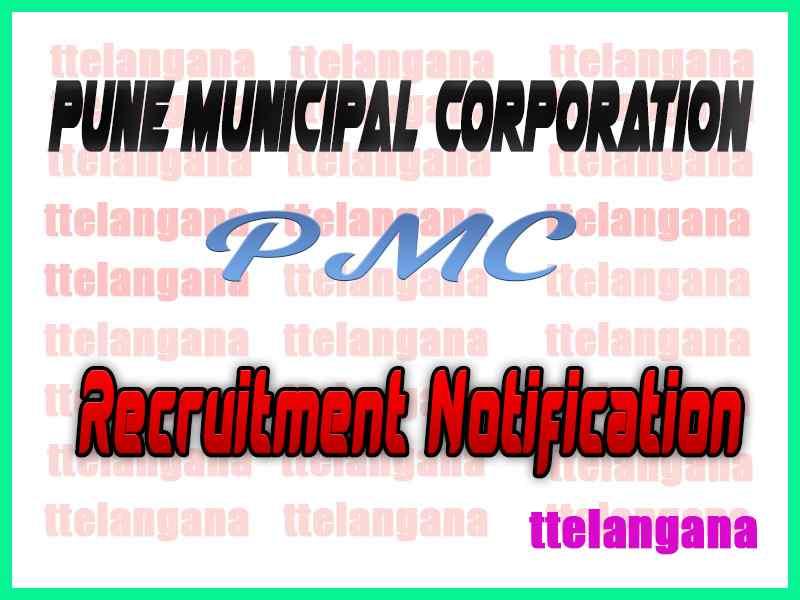 Pune Municipal Corporation PMC Recruitment Notification