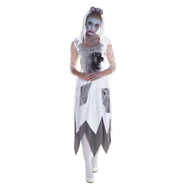 zombie bride morphsuit