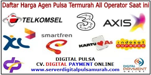 Daftar Harga Agen Pulsa Termurah All Operator